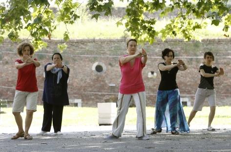 Tai Chi i Qi Gong vezbe u Beogradu na Kalemegdanu